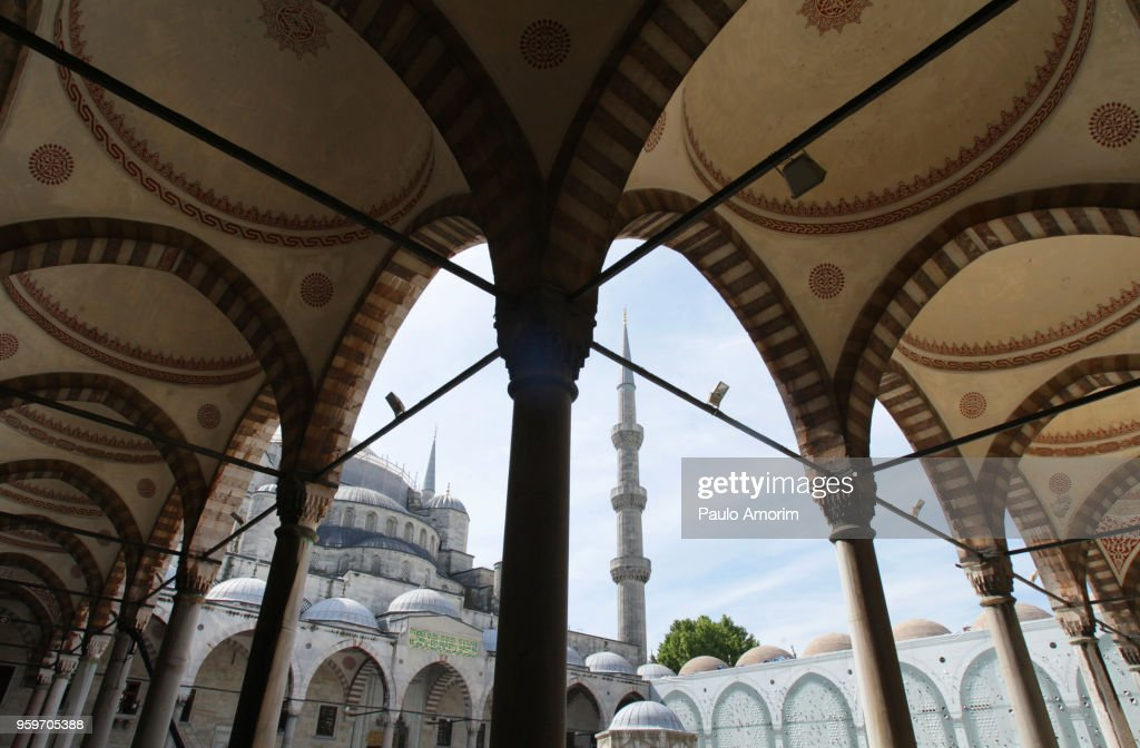 Blue Mosque in Istanbul,Turkey : Stock-Foto
