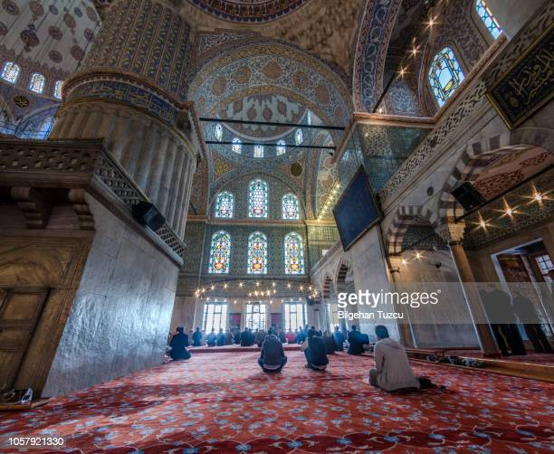 blue mosque, istanbul - mosque stock pictures, royalty-free photos & images