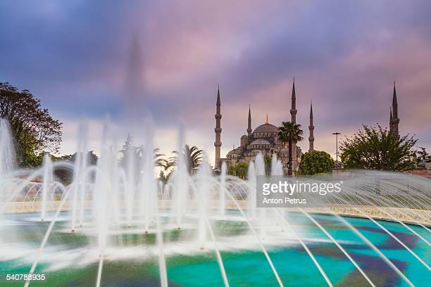 blue mosque, istanbul - anton petrus stock pictures, royalty-free photos & images