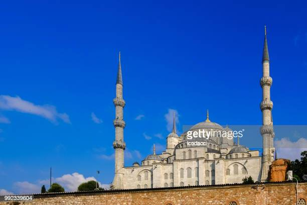 Blue mosque. Istanbul, Turkey. Sunny day