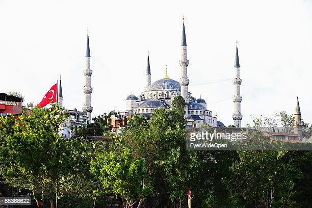 Blue Mosque on May 20 2009 in Istanbul Turkey The Blue Mosque was built in 1609 1616 by Sultan Ahmet I
