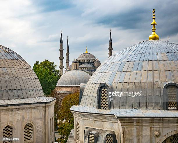 Blue Mosque or Sultan Ahmed Mosque in Istanbul