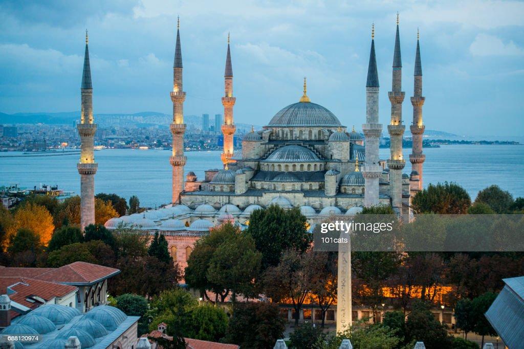 Blue Mosque Sultan Ahmet Camii in Istanbul - Turkey : Stock Photo