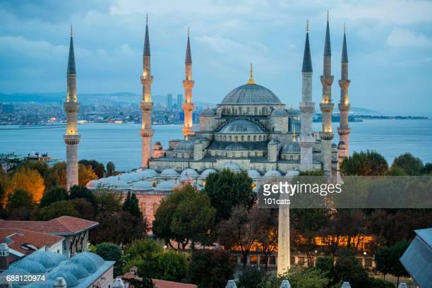 Blue Mosque Sultan Ahmet Camii in Istanbul - Turkey