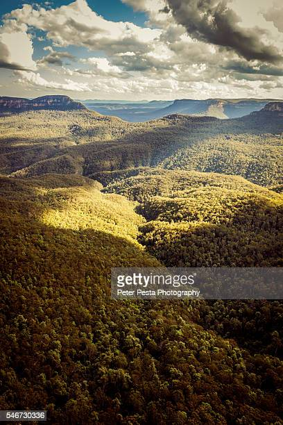 blue mountain - katoomba stock pictures, royalty-free photos & images