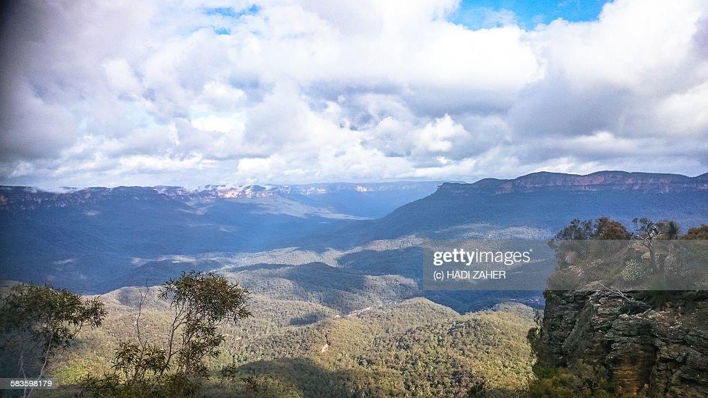 Blue Mountains National Park | Katoomba| Australia : Stock Photo