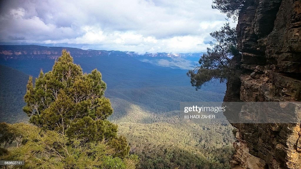 Blue mountains National Park : Stock Photo