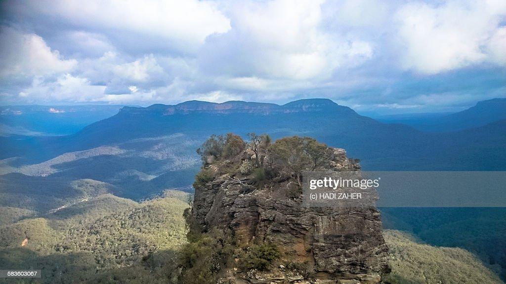 Blue mountains National Park : Stock Photo