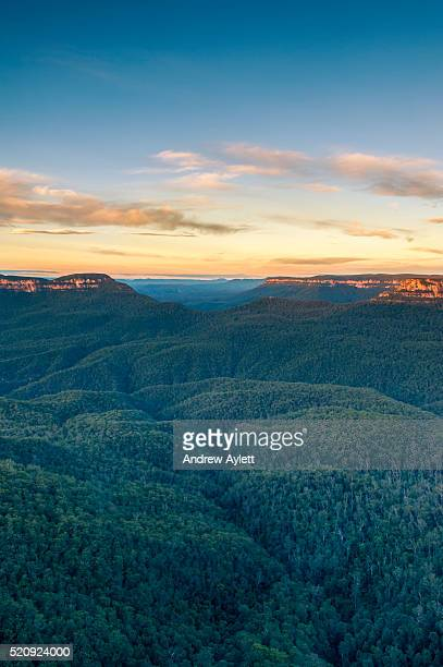 blue mountains - katoomba stock pictures, royalty-free photos & images