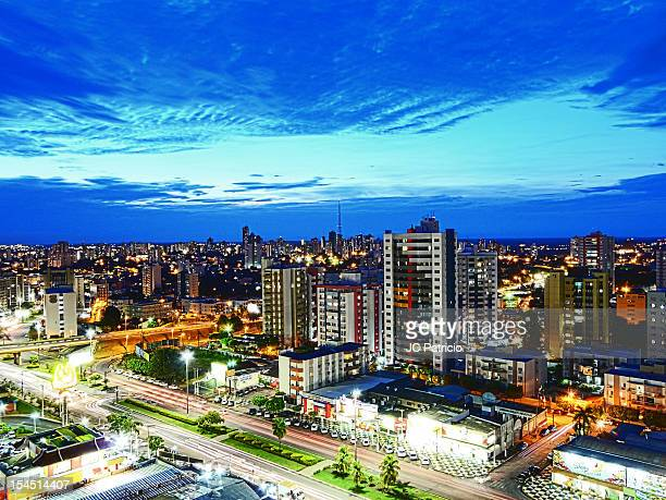 blue night - cuiabá stock photos and pictures