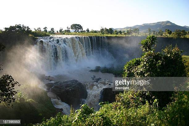 blue nile fals - ethiopia stock photos and pictures
