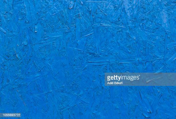 blue osb plywood wood, chipboard - construction material stock pictures, royalty-free photos & images