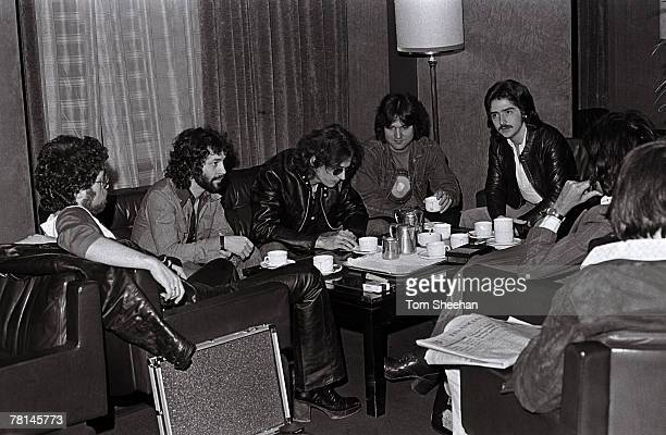 Blue Oyster Cult During Press Interview London 1981