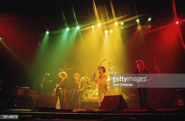 Blue Oyster Cult Performing At The Hammersmith Odeon London 1977