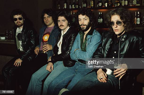 Blue Oyster Cult Press Shoot London 1981