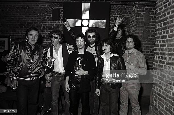 Blue Oyster Cult With Radio DJ Alan Freeman London