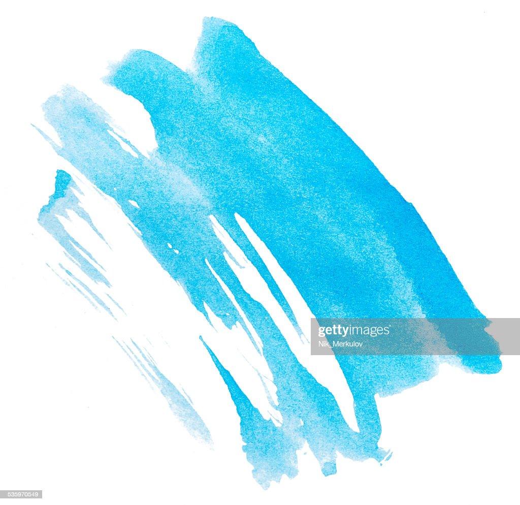 Blue paint : Stock Photo