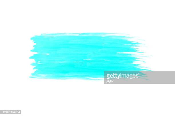blue paint stroke - stroking stock pictures, royalty-free photos & images