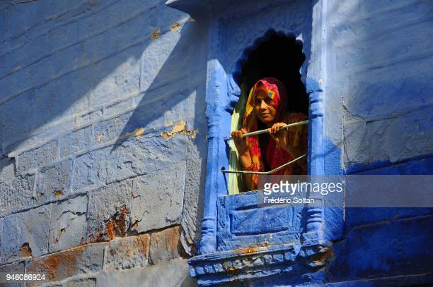 Blue painted houses and street scenes in Jodhpur Jodhpur is the second largest city in the Indian state of Rajasthan It is also referred to as the...