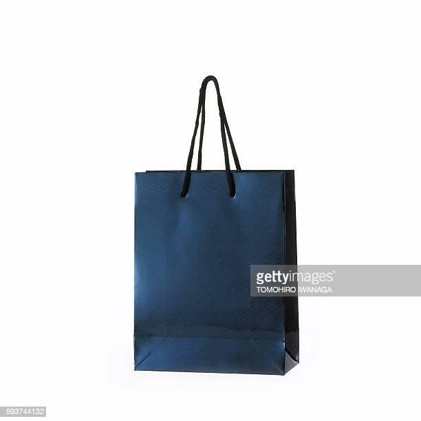 Blue Paper Bag