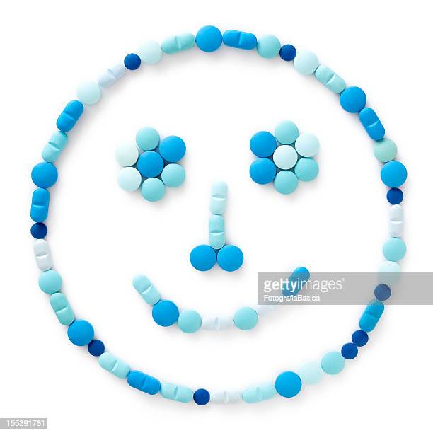 Blue Tabletten Gesicht
