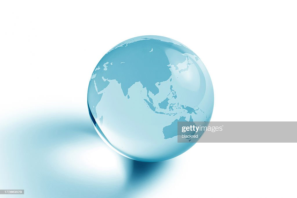 Blue Planet - Asia and Australia : Stock Photo