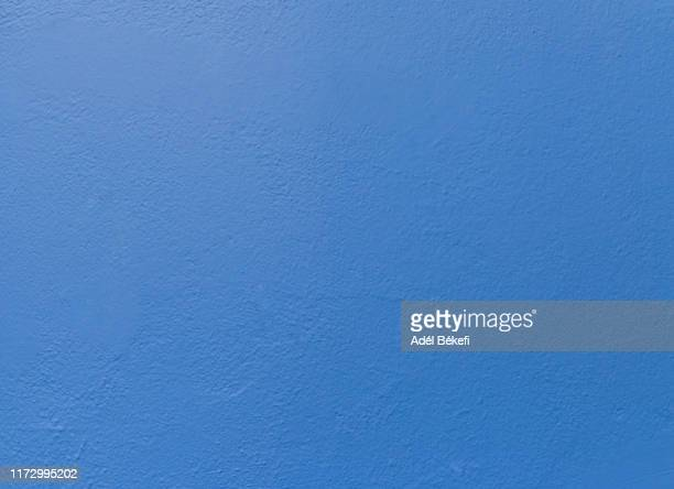 blue plastered rusty concrete wall - surrounding wall stock pictures, royalty-free photos & images