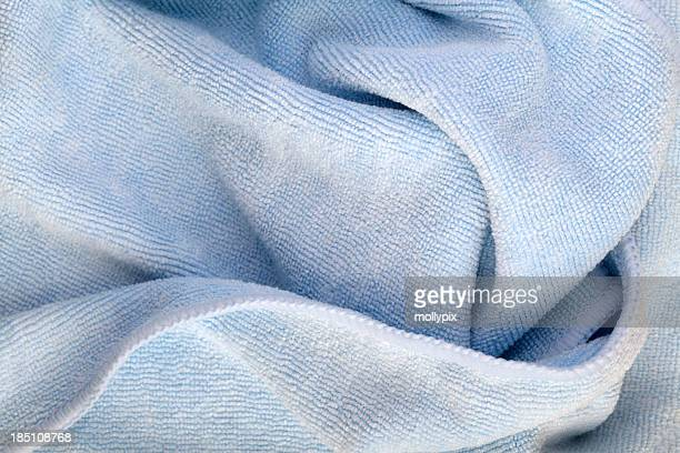 blue rag - microfiber towel stock photos and pictures