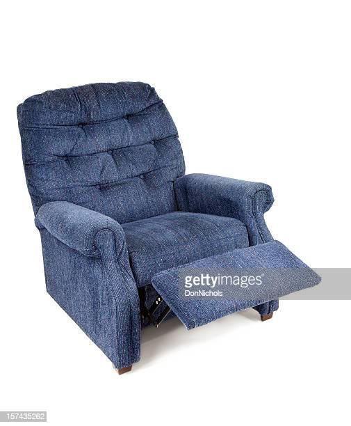 Bleu fauteuil inclinable