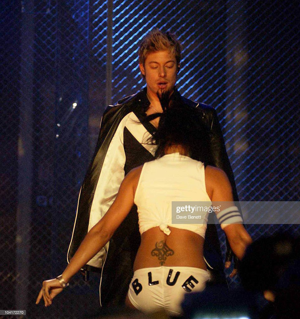 Blue, Rehearsals For The Brit Awards 2003, At Earl's Court, London