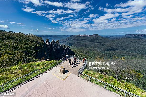 blue ridge mountains australia - blue mountains national park stock pictures, royalty-free photos & images