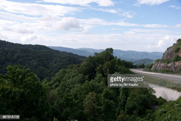 Blue Ridge Mountains in North Carolina