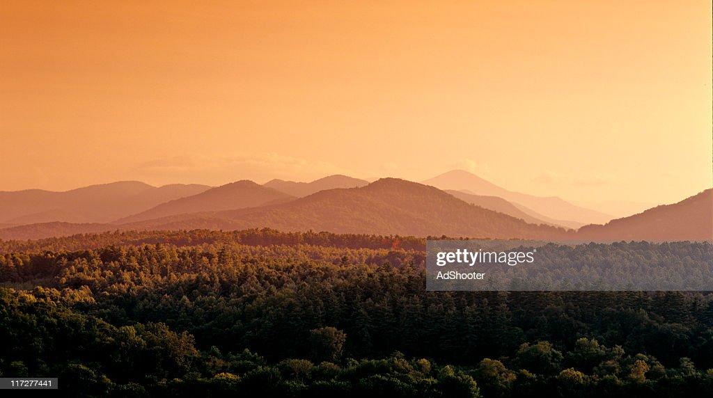 Blue Ridge Mountains : Stock Photo