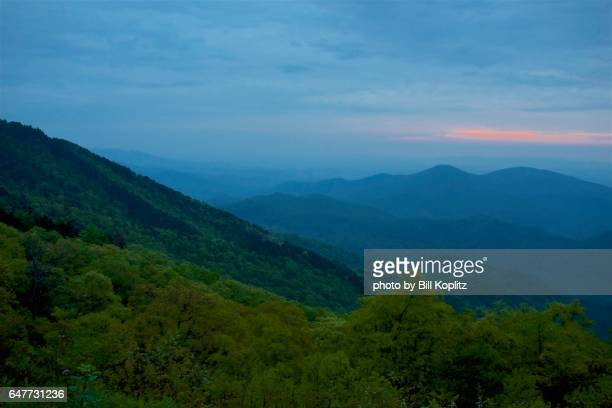 blue ridge mountains - asheville stock pictures, royalty-free photos & images