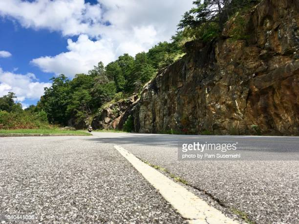 blue ridge parkway, low angle view - blue ridge parkway stock pictures, royalty-free photos & images