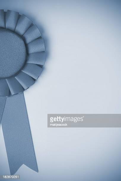 Rosette de bleu