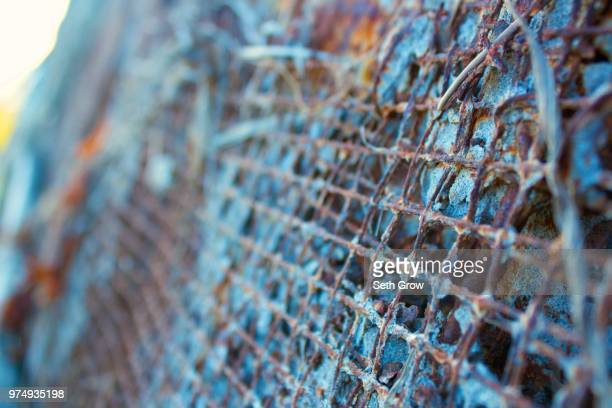 blue rust - rust colored - fotografias e filmes do acervo