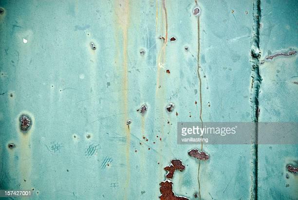 rusty superficie, azul