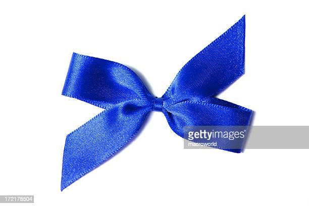 Azul Fita de cetim
