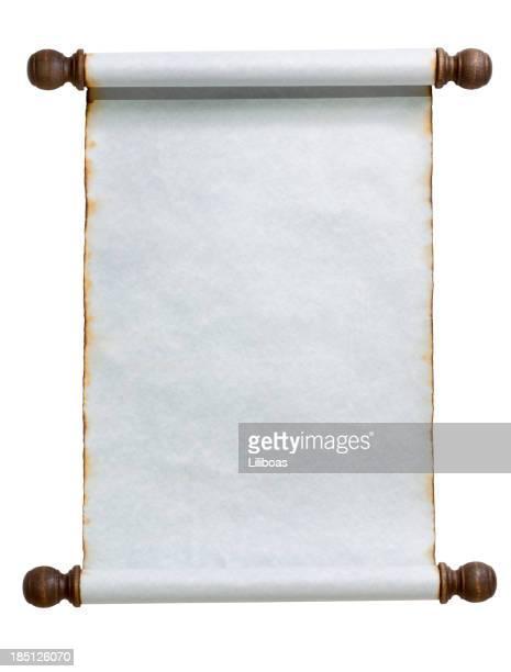 Blue Scroll