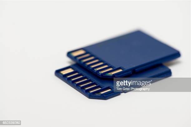 Blue SD Memory Cards