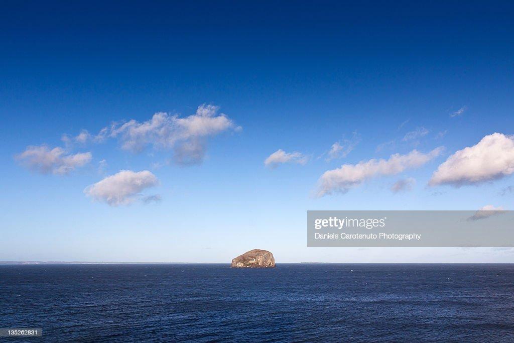 Blue sea in Scotland : Stock Photo