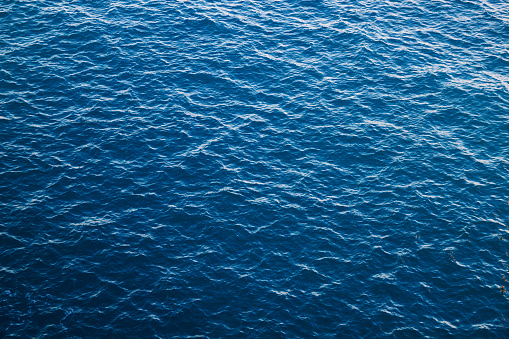 Blue sea water background, Atlantic 1136870172