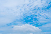 blue sky cloud summer