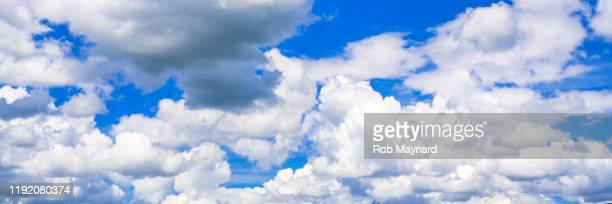 blue sky and clouds - heat stock pictures, royalty-free photos & images