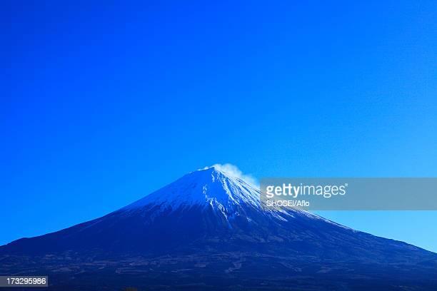 Blue sky and Mount Fuji, Shizuoka Prefecture