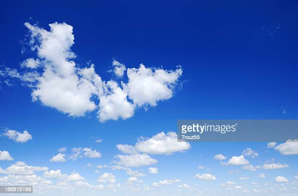 Blue sky and white clouds, SCROLL DOWN for more