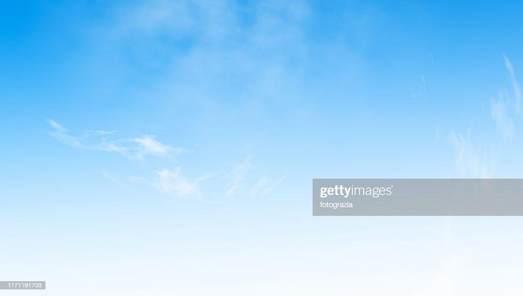 Blue Sky Background : Foto de stock