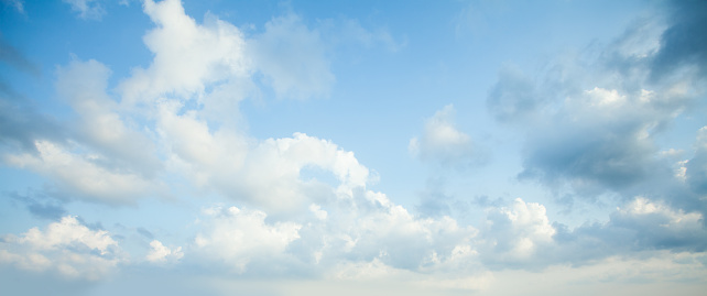 Blue sky clouds background. Beautiful landscape with clouds on sky 1170764301