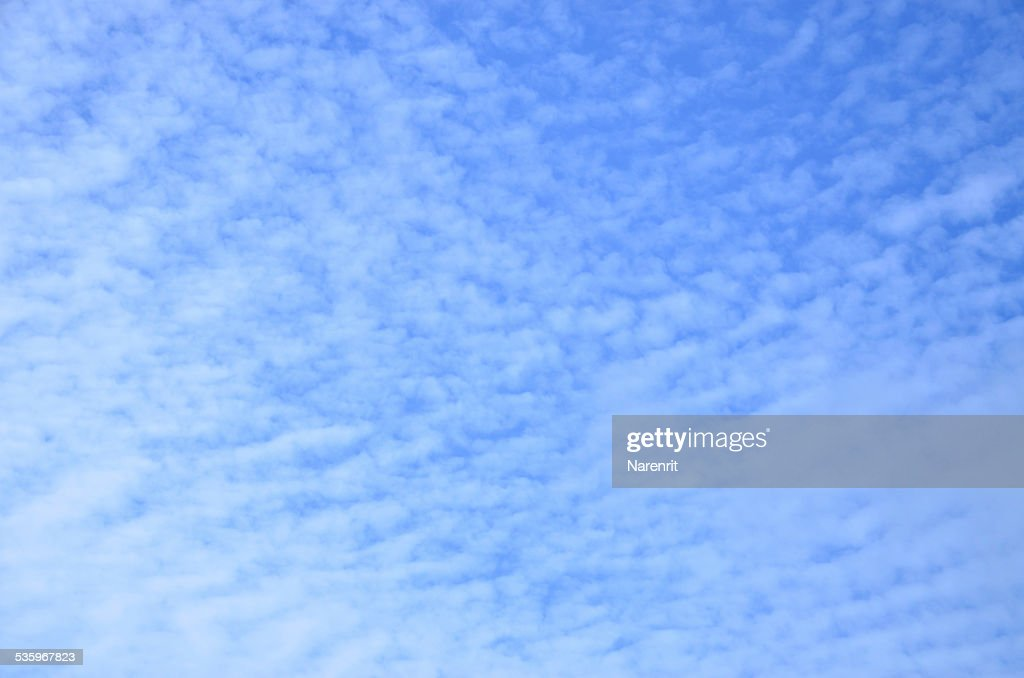 Blue sky high : Stock Photo